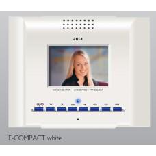 Ψηφιακή οθόνη e-COMPACT ομοαξονικού λευκή